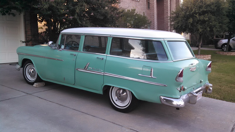 1955 Bel Air Beauville Wagon Trifive Com 1955 Chevy